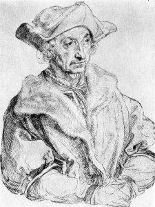 Sebastian Brant, gemalt von Albrecht Dürer
